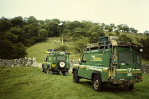 Yorkshire Electricity Board Land Rovers